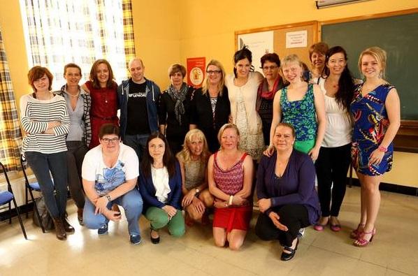 Afgestudeerde verzorgenden-zorgkundigen april 2014 Pajottenlands Centrum Liedekerke